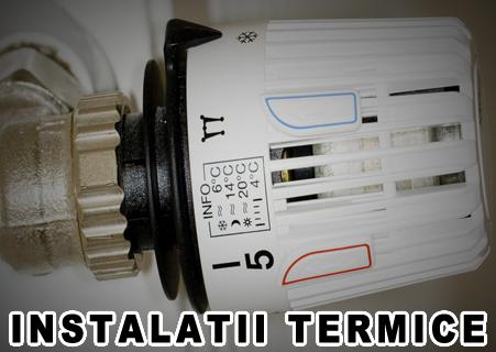 Instalatii termice Bacau